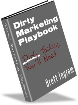 Product picture Dirty marketing playbook